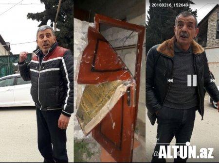 Prezidentliyə namizəd Sərdar Cəlaloğlunun qardaşı oğlunun evinə BASQIN EDİLDİ - FOTO/VİDEO
