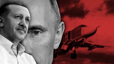 DƏHŞƏT!!! TÜRKİYƏYƏ AGIR ZƏRBƏ: Rus təyyarələri şəhəri bombalayır – FOTOLAR